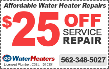 water heater repair coupon