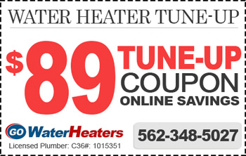 water heater tune-up coupon